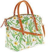 Dooney & Bourke As Is Daffodil Domed Satchel
