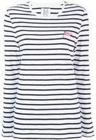 Zoe Karssen Breton stripe sweatshirt