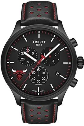 Tissot Chrono XL NBA Chronograph Chicago Bulls - T1166173605100 (Black/Black/Red) Watches