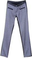 L2r The Label Two-Face Pants In Recycled Brocade & Rescued