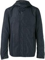 Woolrich hooded rain coat