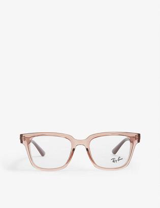 Ray-Ban RX4323V square glasses