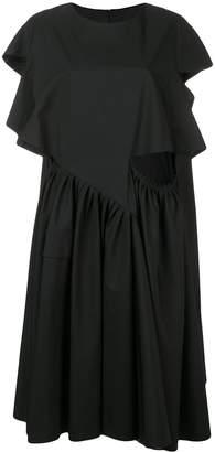 Maison Margiela ruffled asymmetric dress