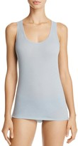 Fine Lines Pure Cotton Wide Strap Tank