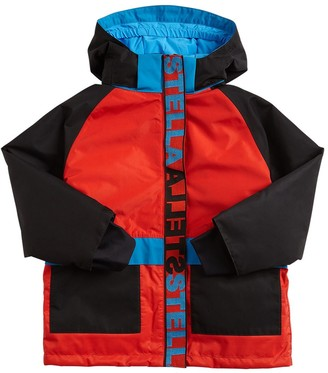 Stella McCartney Kids Waterproof Nylon Ski Jacket
