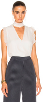 Alexis Lilibeth Top in White.