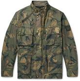 Belstaff - Tyefield Camouflage-print Waxed-cotton Field Jacket