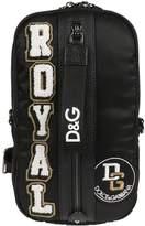 Dolce & Gabbana Royal Applique Shoulder Bag