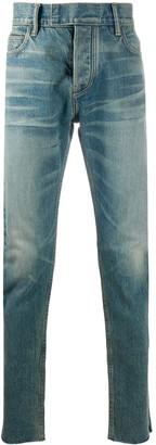 Ermenegildo Zegna FEAROFGODZEGNA faded slim-fit jeans