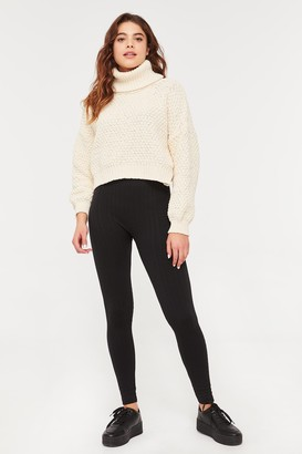 Ardene Softie Textured Fleece Leggings
