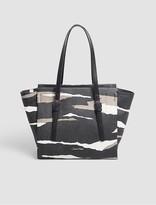 Calvin Klein Textured Camo Medium Tote