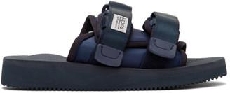 Suicoke Navy MOTO-Cab Sandals