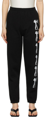 Ashley Williams Black Eat Me Lounge Pants