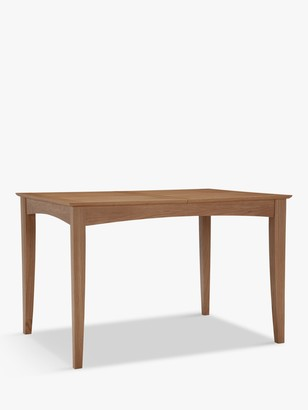 John Lewis & Partners Alba 4-6 Seater Extending Dining Table