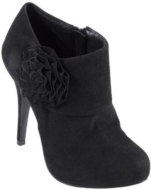 ADI Womens Glaze by Rose Trim High Heel Platform Bootie