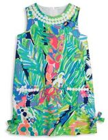 Lilly Pulitzer Toddler's, Little Girl's & Girl's Graphic Printed Dress