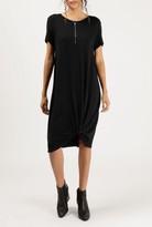 Azalea Gather Detail S/S TShirt Dress