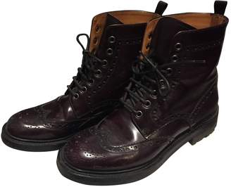 Church's Burgundy Leather Boots