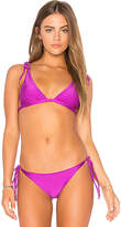 Beach Riot x Revolve Marina Top in Purple. - size L (also in M,S,XS)