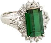 Ring Tourmaline & Diamond