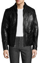 Rogue Leather Two-way Zip Jacket