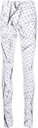 MM6 MAISON MARGIELA Polka-Dot Swirl Printed Leggings