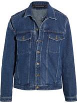 Y/Project Layered Denim Jacket - Dark denim
