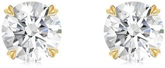 Pragnell 18kt yellow gold diamond Windsor stud earrings