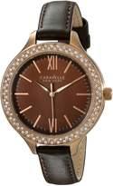 Bulova Caravelle New York Women's 44L124 Analog Display Japanese Quartz Watch