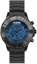 Versus By Versace Men's SGN100015 TOKYO CHRONO Analog Display Quartz Black Watch