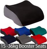 BabyLand Small Polystyrene Booster Car Seat - Black