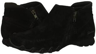 Skechers Bikers - Zippiest (Black) Women's Shoes
