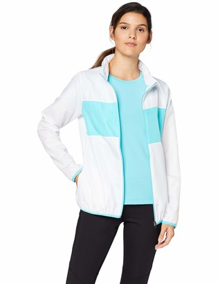 Iris & Lilly Amazon Brand Women's Track Jacket Hooded with Long Sleeves