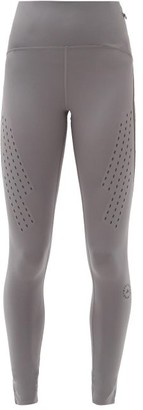 adidas by Stella McCartney Truepurpose High-rise Stretch-jersey Leggings - Dark Grey