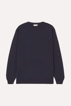 Brunello Cucinelli Bead-embellished Cashmere Sweater - Blue