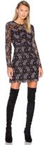 Cynthia Rowley Lynden Bell Floral Mini Dress
