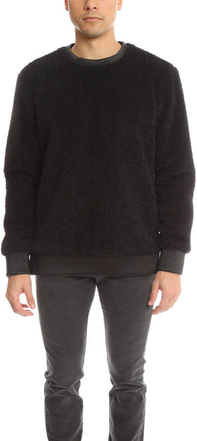 Helmut Lang Luxe Sherpa Crewneck