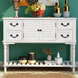 Moda Furnishings Moda Console Table Sideboard for Entryway Sofa Table