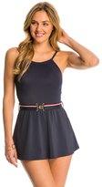 Tommy Hilfiger Signature Solids High Neck Swim Dress 8142671