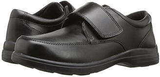 Hush Puppies Kids Gavin (Toddler/Little Kid) (Black Leather) Boy's Shoes