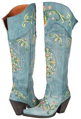 Dan Post Flower Child (Turquoise) Women's Boots