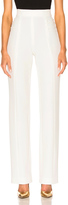 Cushnie et Ochs Stretch Twill High-Waisted Pants in White.