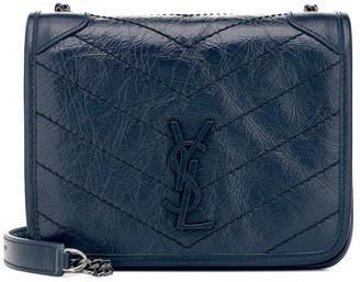 Saint Laurent Niki Mini leather crossbody bag