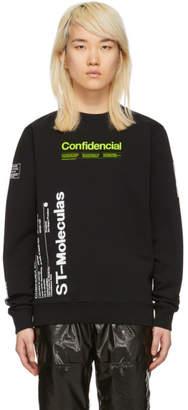 Marcelo Burlon County of Milan Black Confidencial Sweatshirt