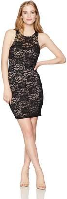My Michelle Sequin Hearts Women's Lace Dress