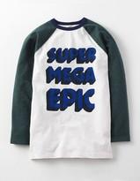 Boden Raglan Logo T-shirt