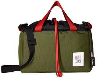 Topo Designs Camera Cube (Olive/Black) Bags