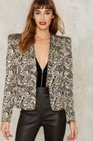 Nasty Gal Collection Constantine Jacquard Blazer