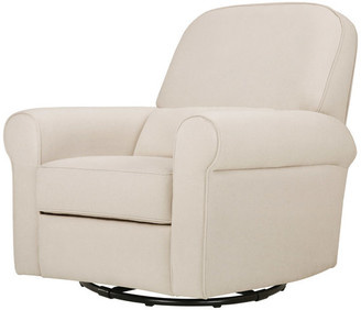 DaVinci Ruby Recliner And Glider, Cream