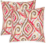 Safavieh Bardot Set Of 2 Decorative Pillows